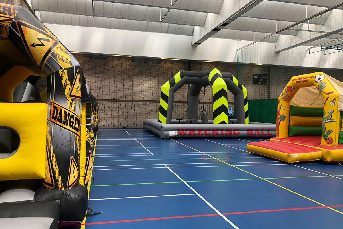 An example of our inflatables for older children